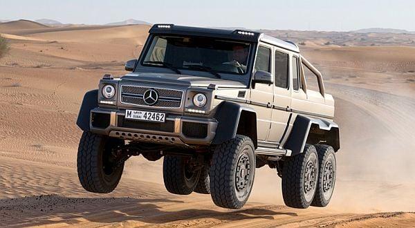 Dijual Mercedes Benz G63 Amg 6x6 Okezone Otomotif