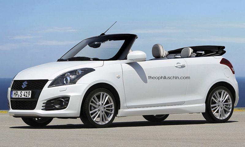 Inikah Tampang Suzuki Swift Convertible? : Okezone News