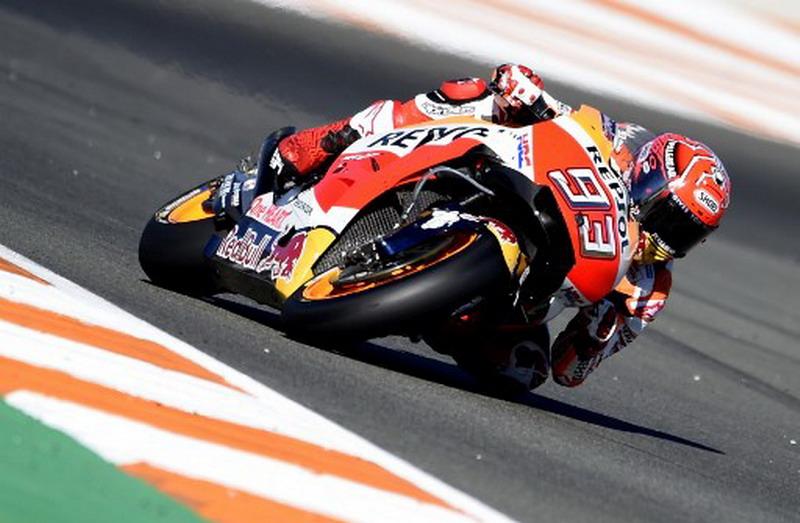 Nyaris Jatuh di MotoGP Valencia 2017