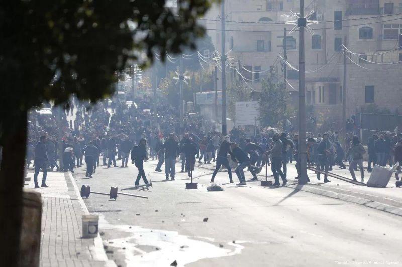 300 Warga Palestina Ditahan Tentara Israel Usai Pecahnya Demonstrasi Terkait Yerusalem
