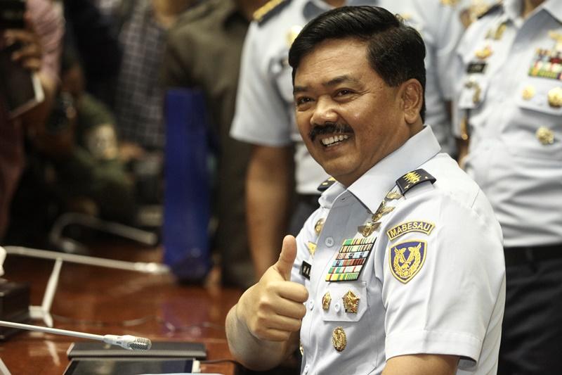 Panglima TNI Hadi Tjahjanto (Foto: Okezone)