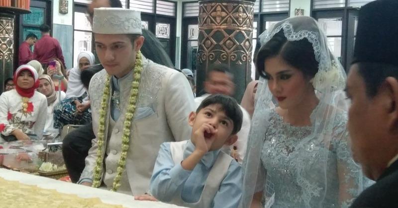 Pernikahan Rifky Balweel (Foto: Dewanto/Okezone)