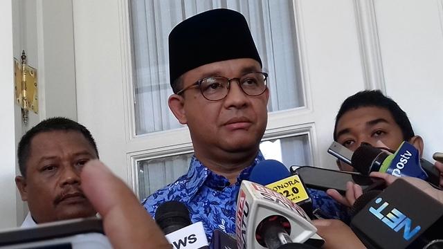 Gubernur DKI Jakarta, Anies Baswedan (foto: Fadel/Okezone)