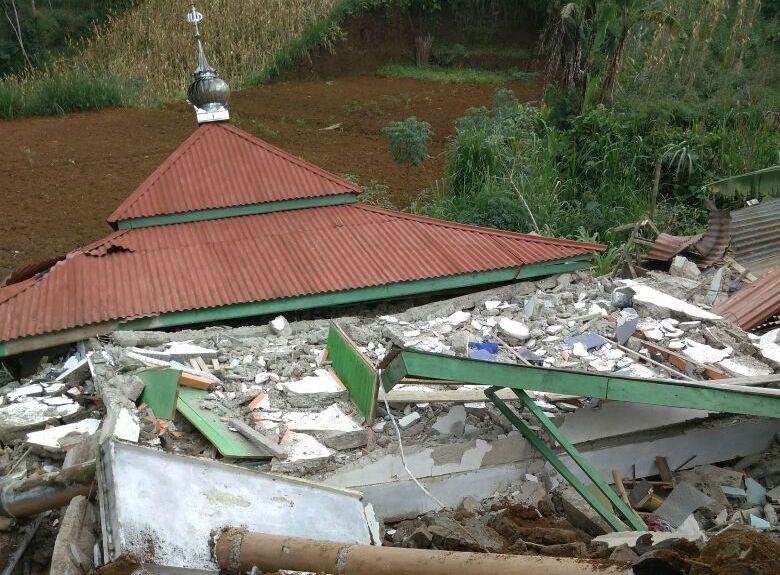 Hasil gambar untuk foto gempa banjarnegara