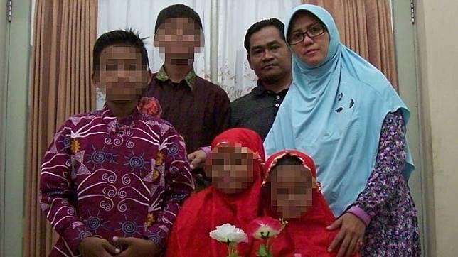 1 Keluarga terduga teroris (foto: Istimewa)