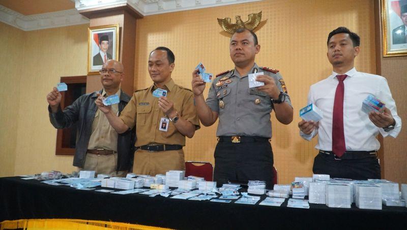 Polisi Tak Temukan Unsur Pidana dalam Kasus E-KTP yang Tercecer di Bogor