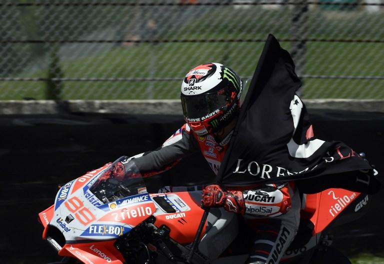 Stoner Komentari Penampilan Lorenzo di Ducati