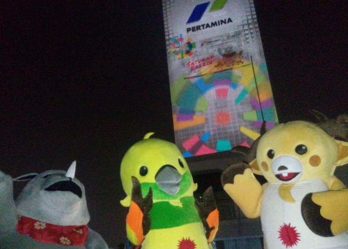 Yuk Lihat Video Raksasa Asian Games Di Pertamina Pusat