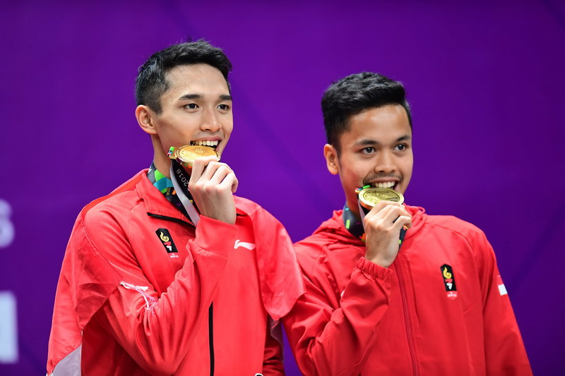 Anthony Ginting Ditantang Jonatan di 16 Besar China Open 2018
