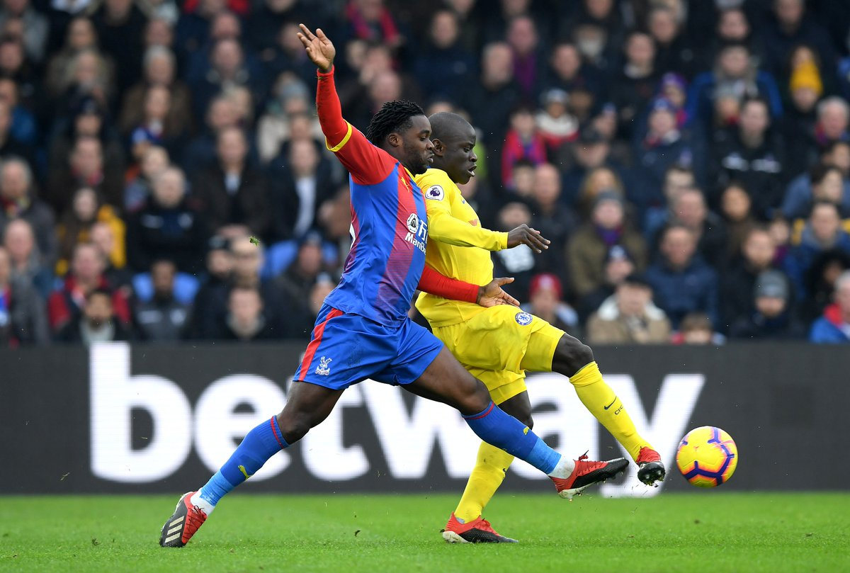 Skor Kacamata Hiasi Babak Pertama Crystal Palace vs ...