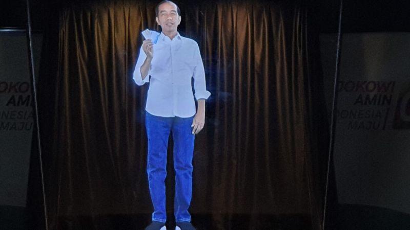 Hasil gambar untuk kampanye hologram