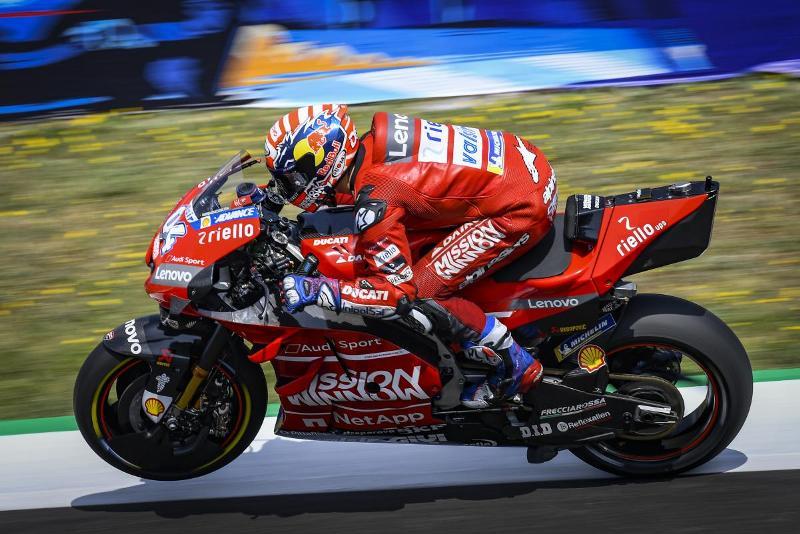 Dovizioso Kembali Keluhkan Kecepatan Motor Ducati di Tikungan