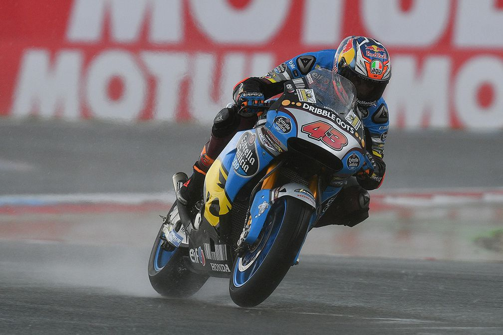 Pembalap Paling Jago di Lintasan Basah versi Rider MotoGP