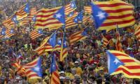 Referendum Ditolak, Catalonia Dilanda Protes Besar