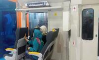 BUSINESS HITS: Futuristik, Kereta Bandara Mejeng di IBD Expo 2017