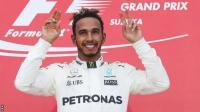 Ungguli Vettel di Klasemen Sementara F1 2017, Hamilton: Tim Bekerja dengan Hebat!