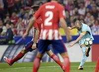 Barca Main Imbang Kontra Atletico di Wanda Metropolitano, Iniesta: Selalu Sulit Meraih Kemenangan di Sini
