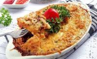 URBAN FOOD: Bikin Camilan buat Nanti Sore yang Kekinian Yuk! Pilih Fettuccine Pizza atau Macaroni Schotel?
