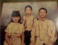Putra Jokowi Pamer Foto Kecil Pakai Baju Kebesaran, Netizen: Mas Gibran Mirip Bapak!