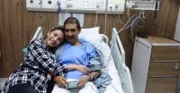 FOTO: Mertua Sakit, Glenn Alinskie Rayakan Ulang Tahun di Rumah Sakit