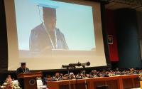 Mantap! Granprix, Doktor Termuda Indonesia Jalani Prosesi Wisuda