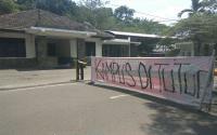 Waduh! Protes Penganiayaan Rekannya, Mahasiswa USU Duduki Kantor Satpam Kampus