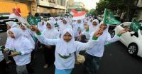 Besok, Ribuan Santri Kirab 99 Bendera Merah Putih di Simpang Lima Semarang