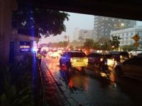 Diguyur Hujan, Ini Laporan Lalu Lintas dari Berbagai Wilayah Ibu Kota
