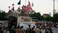 Aksi Tolak Perppu Ormas, Massa Siap Bermalam di Depan Gedung DPR