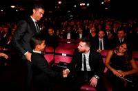VIRAL! Cristiano Ronaldo Jr Salami Lionel Messi di Penghargaan Pemain Terbaik Dunia 2017