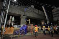 Pasca-Beton Prapet MRT Jatuh Menimpa Pengendara, Operator Proyek Dikeluarkan