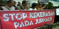 AJI Purwokerto Desak Polisi Usut Tuntas Kasus Pemukulan Wartawan Okezone
