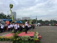 Gubernur Anies Baswedan Pimpin Apel Operasi Siaga Ibu Kota, Diikuti 50.000 Personel