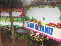 Berisi Pesan Berbau Sindiran, Karangan Bunga untuk Setya Novanto Dirusak Orang Tak Dikenal