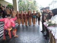 Kirab Tari Jawa Sambut Mantan Kapuspen TNI yang Dilantik Jadi Pangdam IV/Diponegoro