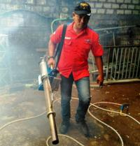 Warga Tuban Antusias Sambut <i>Fogging</i> Gratis dari Rescue Perindo Jatim