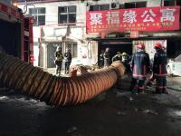 Kebakaran Rusun di Ibu Kota China Sebabkan 19 Orang Tewas