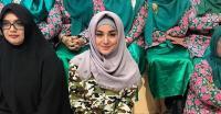 Kenakan Hijab, Juwita Bahar Banjir Pujian dari Netizen