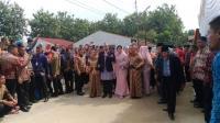 Sah Menyandang Marga Siregar, Jokowi Sembelih 10 Kerbau untuk Proses Mangalehan