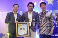 Sukses Tingkatkan Employee Engagement, Indosat Ooredoo Raih Stellar Workplace Award 2017
