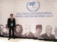 Singkirkan 5.000 Pendaftar Dunia, Mahasiswa Indonesia Jadi Peserta Asia Youth International Model United Nations 2017