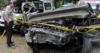 580 Kecelakaan Terjadi di Tol Tangerang-Merak, Sopir <i>Ngantuk</i> dan Jalan Rusak Jadi Penyebabnya