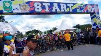 Tour de Siak Dimulai, 6 Tim Indonesia Adu Cepat dengan 8 Negara