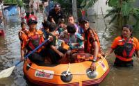 Sungai di Aceh Tenggara Meluap, SAR Evakuasi Ratusan Santri dari Pesantren