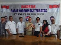 Perkuat Dukungan, Aswari Riva'i Datangi DPW Perindo Sumatera Selatan