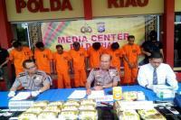 Polisi Gagalkan Penyelundupan 5 Kilogram Sabu Asal Malaysia