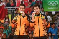 Ganda Putra Peraih Perak Olimpiade 2016 Akan Kembali Berduet pada 2018