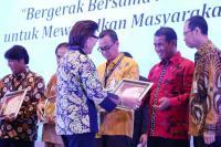 KPK Ganjar Mentan Amran Sulaiman Penghargaan Anti-Gratifikasi