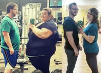 Inspiratif! Pasangan Ini Sukses Turunkan Berat Badan hingga 168 Kilogram