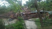 BPBD Data Rumah Warga Rusak Akibat Puting Beliung di Magetan